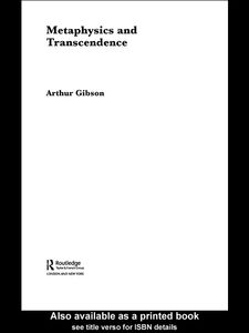 Ebook in inglese Metaphysics and Transcendence Gibson, Arthur