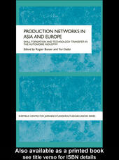 Production Networks in Asia and Europe