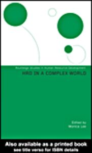 Foto Cover di HRD in a Complex World, Ebook inglese di Monica Lee, edito da