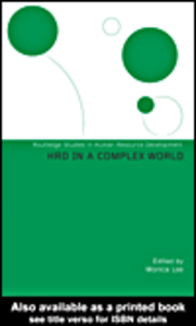 Ebook in inglese HRD in a Complex World