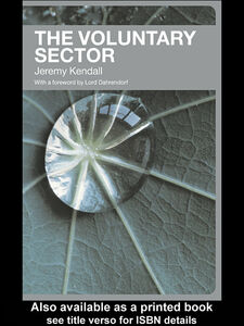 Ebook in inglese The Voluntary Sector Kendall, Jeremy