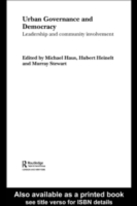 Ebook in inglese Urban Governance and Democracy -, -