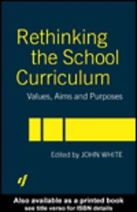 Ebook in inglese Rethinking the School Curriculum