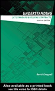 Ebook in inglese Understanding JCT Standard Building Contracts Chappell, David
