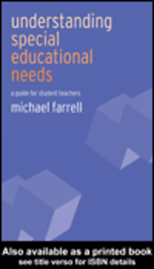 Ebook in inglese Understanding Special Educational Needs Farrell, Michael