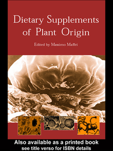 Ebook in inglese Dietary Supplements of Plant Origin