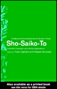 Ebook in inglese Sho-Saiko-To and Related Formulations