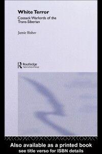 Foto Cover di White Terror, Ebook inglese di Jamie Bisher, edito da Taylor and Francis