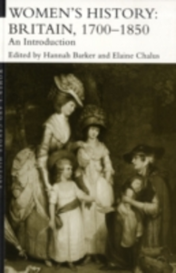 Ebook in inglese Women's History, Britain 1700-1850 -, -