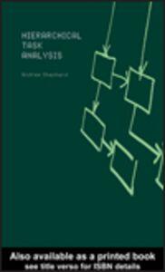Ebook in inglese Hierarchial Task Analysis Shepherd, Andrew