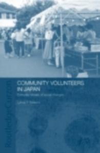 Ebook in inglese Community Volunteers in Japan Nakano, Lynne