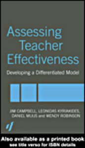 Ebook in inglese Assessing Teacher Effectiveness Campbell, Jim , Kyriakides, Leonidas , Muijs, Daniel , Robinson, Wendy