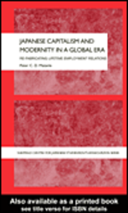 Ebook in inglese Japanese Capitalism and Modernity in a Global Era Matanle, Peter