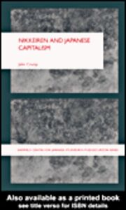 Ebook in inglese Nikkeiren and Japanese Capitalism Crump, John