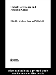 Ebook in inglese Global Governance and Financial Crises