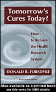 Ebook in inglese Tomorrow's Cures Today Forsdyke, Donald R