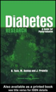 Ebook in inglese Diabetes Research Dunlop, Marjorie , Proietto, Joe , Tuch, Bernard