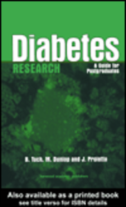 Ebook in inglese Diabetes Research Dunlop, Marjorie , Proietto, Joe , Tuch, Bernard