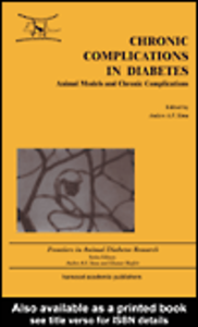 Ebook in inglese Chronic Complications in Diabetes Sima, Anders A F
