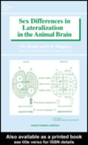 Ebook in inglese Sex Differences in Lateralization in the Animal Brain Bianki, V L , Filippova, E. B.