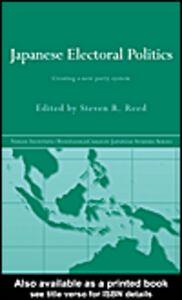 Ebook in inglese Japanese Electoral Politics