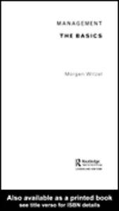 Foto Cover di Management, Ebook inglese di Morgen Witzel, edito da