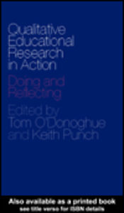 Ebook in inglese Qualitative Educational Research in Action
