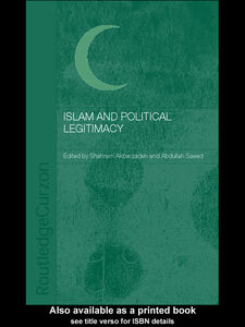 Ebook in inglese Islam and Political Legitimacy