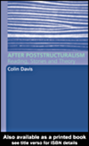 Ebook in inglese After Poststructuralism Davis, Colin