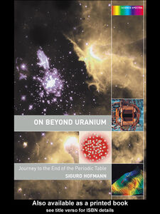 Ebook in inglese On Beyond Uranium Hofmann, Sigurd