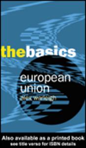 Ebook in inglese European Union Warleigh, Alex