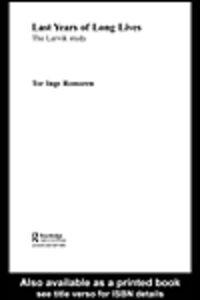 Ebook in inglese Last Years of Long Lives Romoren, Tor Inge