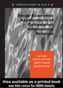 Ebook in inglese Socio-Economic Applications of Geographic Information Science