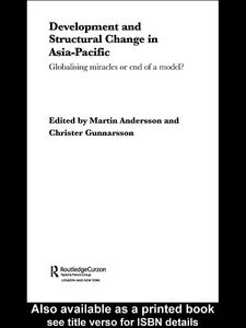 Ebook in inglese Development and Structural Change in Asia-Pacific