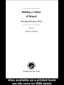 Ebook in inglese Building a Culture of Respect