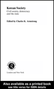 Ebook in inglese Korean Society Armstrong, Charles