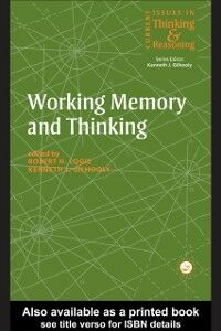 Foto Cover di Working Memory and Thinking, Ebook inglese di Kenneth Gilhooly,Robert H. Logie, edito da Taylor and Francis
