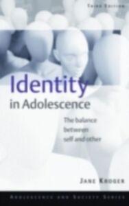 Foto Cover di Identity In Adolescence, Ebook inglese di Jane Kroger, edito da Taylor and Francis