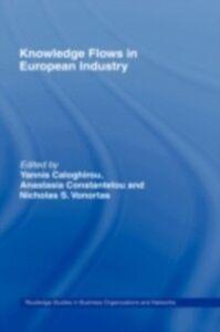 Ebook in inglese Knowledge Flows in European Industry