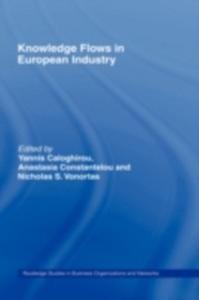 Ebook in inglese Knowledge Flows in European Industry -, -