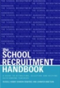Ebook in inglese School Recruitment Handbook Crabtree, Sharon , Hobby, Russell , Ibbetson, Jennifer