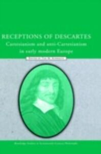 Foto Cover di Receptions of Descartes, Ebook inglese di  edito da Taylor and Francis