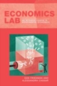 Foto Cover di Economics Lab, Ebook inglese di Alessandra Cassar,Dan Friedman, edito da Taylor and Francis