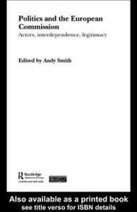 Ebook in inglese Politics and the European Commission -, -