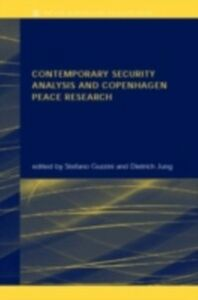 Ebook in inglese Contemporary Security Analysis and Copenhagen Peace Research