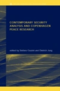 Ebook in inglese Contemporary Security Analysis and Copenhagen Peace Research -, -
