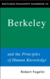 Routledge Philosophy GuideBook to Berkeley and the Principles of Human Knowledge