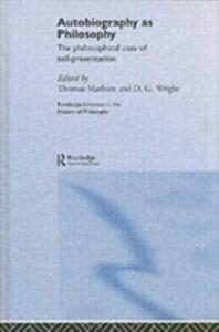 Foto Cover di Autobiography as Philosophy, Ebook inglese di  edito da Taylor and Francis