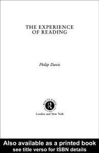 Foto Cover di Experience of Reading, Ebook inglese di Philip Davis, edito da Taylor and Francis