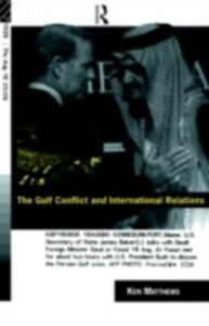 Foto Cover di Gulf Conflict and International Relations, Ebook inglese di Ken Matthews, edito da Taylor and Francis